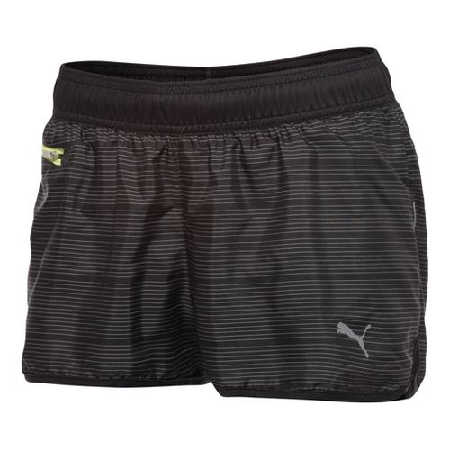 Womens Puma Pure NightCat Unlined Shorts - Black XL
