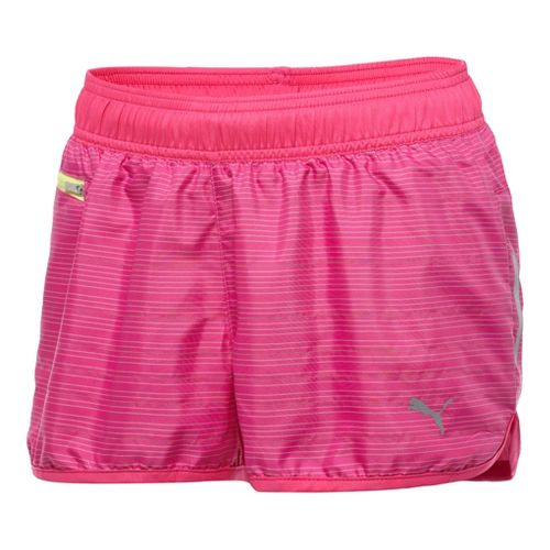 Womens Puma Pure NightCat Unlined Shorts - Beetroot Purple L