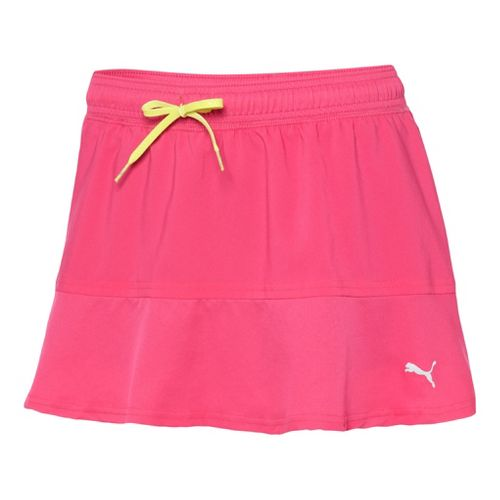 Womens Puma Pure Skort Fitness Skirts - Beetroot Purple L