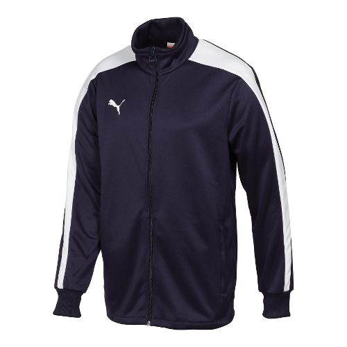 Kids Puma Icon Walk Out Running Jackets - Navy/White S