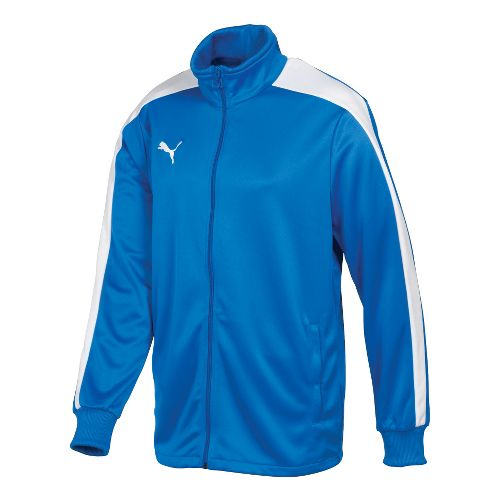 Kids Puma Icon Walk Out Running Jackets - Royal/White S