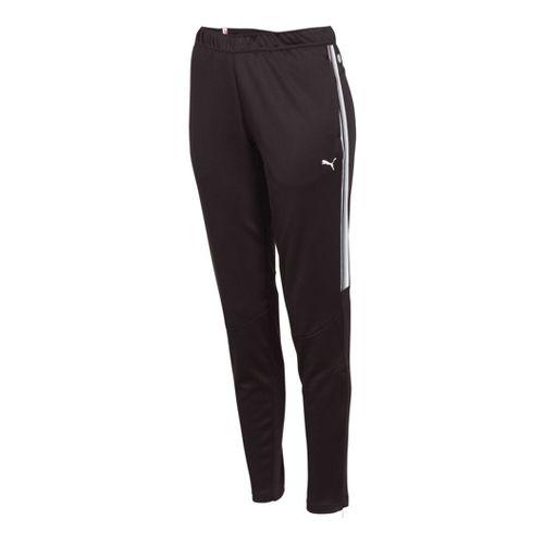 Womens Puma Statement Full Length Pants - Black/White XL