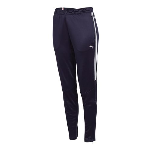 Womens Puma Statement Full Length Pants - Navy/White L