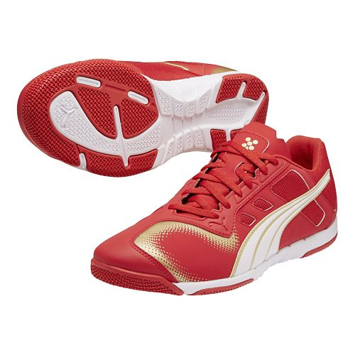 Mens Puma Nevoa Lite Track and Field Shoe - High Risk Red/White 4.5