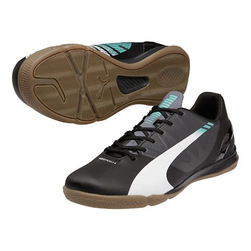 Mens Puma Evospeed 4.3 IT Track and Field Shoe - Black/White 12.5