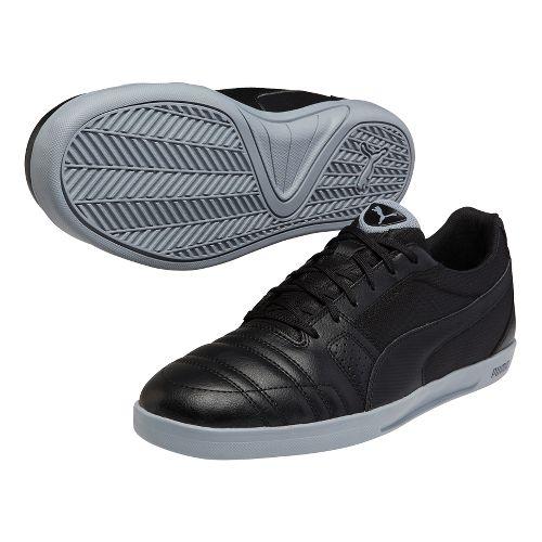 Mens Puma Paulista Novo Track and Field Shoe - Black/Black 13
