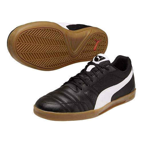 Mens Puma Paulista Novo Track and Field Shoe - Black/White 10.5