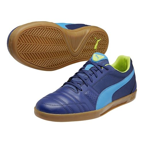 Mens Puma Paulista Novo Track and Field Shoe - Estate Blue/Methyl Blue 7.5