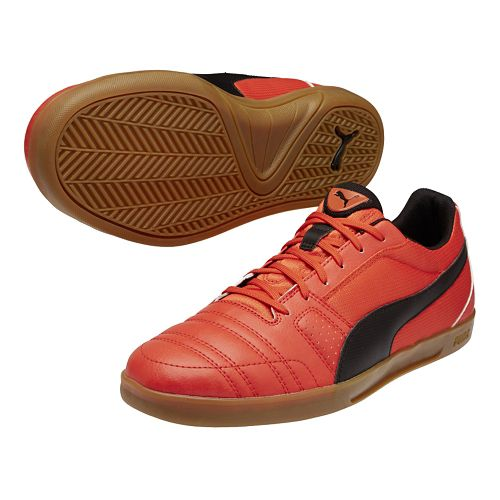 Mens Puma Paulista Novo Track and Field Shoe - Grenadine/Black 10.5