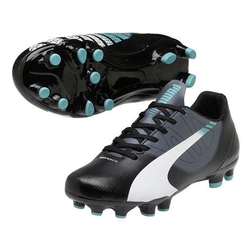 Kids Puma EvoSpeed 5.3 FG Jr. Track and Field Shoe - Black/White 4