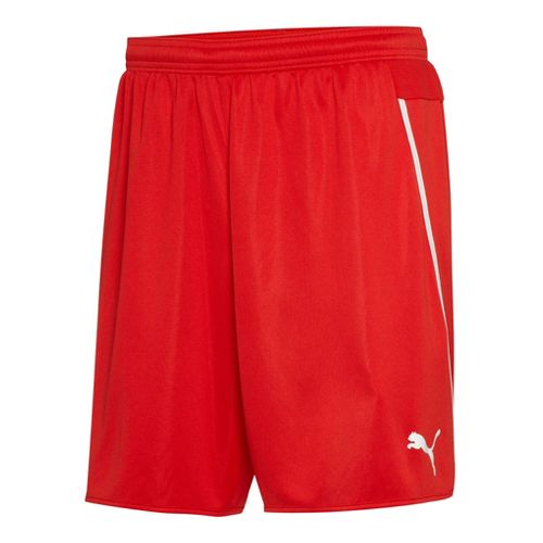 Mens Puma Speed Unlined Shorts - Red/White XL