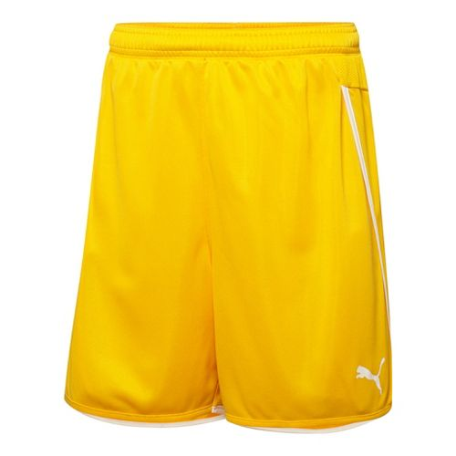 Mens Puma Speed Unlined Shorts - Team Yellow/White L