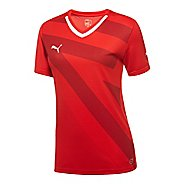 Womens Puma Speed Shirt Short Sleeve Technical Tops