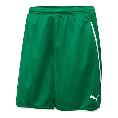 Womens Puma Speed Unlined Shorts - Power Green/White XS