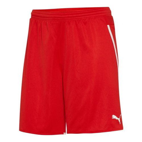 Womens Puma Speed Unlined Shorts - Red/White S