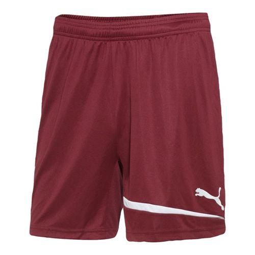 Mens Puma Pulse Unlined Shorts - Team Burgundy/White M