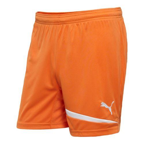 Mens Puma Pulse Unlined Shorts - Team Orange/White M