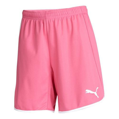 Womens Puma Pulse Unlined Shorts - Azalea Pink/White M