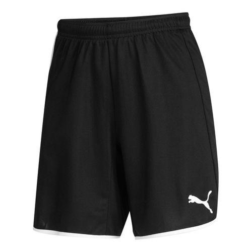 Womens Puma Pulse Unlined Shorts - Black/White S