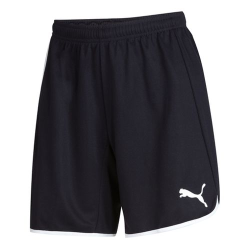 Womens Puma Pulse Unlined Shorts - Navy/White S