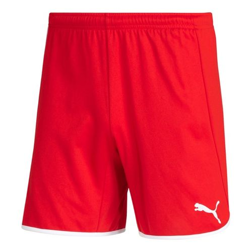 Womens Puma Pulse Unlined Shorts - Red/White S