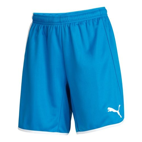 Womens Puma Pulse Unlined Shorts - Royal/White S