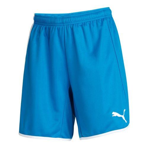Womens Puma Pulse Unlined Shorts - Royal/White XS