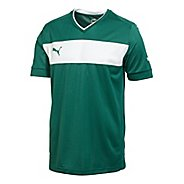Mens Puma PowerCat 3.12 Shirt Short Sleeve Technical Tops