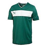 Mens Puma PowerCat 3.12 Shirt Short Sleeve Technical Tops