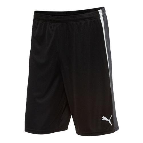 Mens Puma Spirit Unlined Shorts - Black/White L