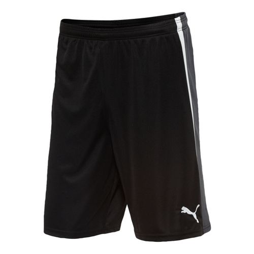 Mens Puma Spirit Unlined Shorts - Black/White S