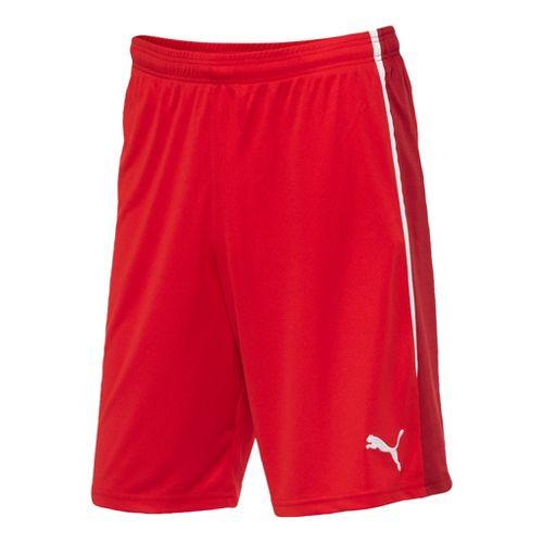 Mens Puma Spirit Unlined Shorts - Red/Chili Pepper L