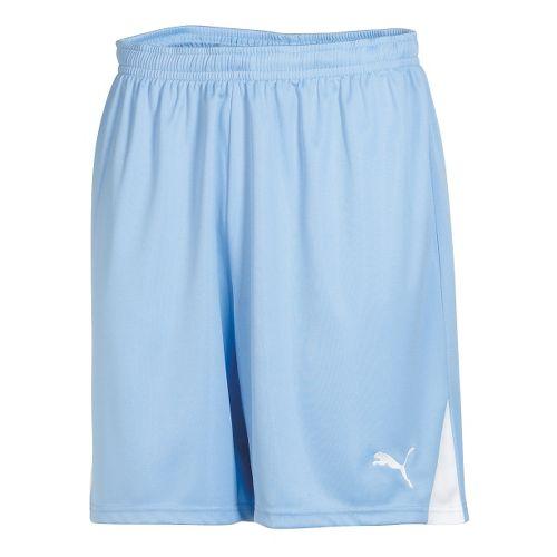 Mens Puma Team Unlined Shorts - Pearl Blue/White XL