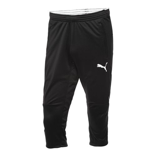 Mens Puma 3/4 Training Capri Pants - Black/White XL