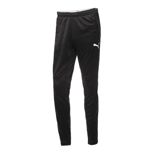 Mens Puma Training Full Length Pants - Black/White XL