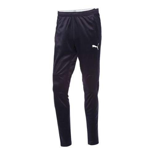 Mens Puma Training Full Length Pants - Navy/White M