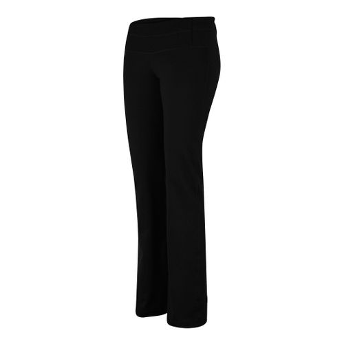 Womens Prana Lolita Pant Bootleg Tights - Black M