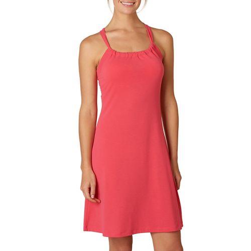 Womens Prana Quinn Skirt Dresses - Azalea XL