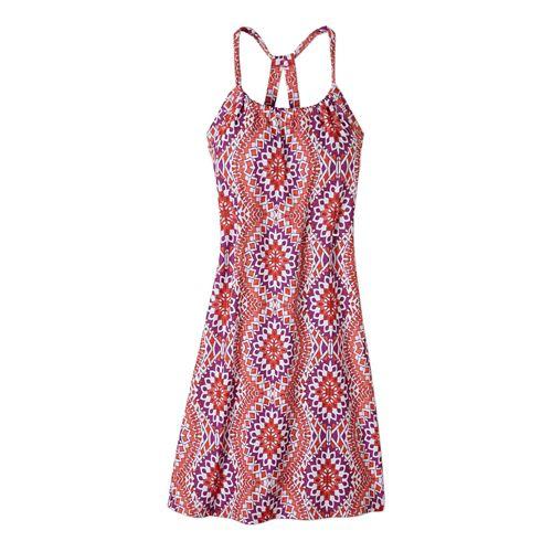 Womens Prana Quinn Dress Skirt Fitness Skirts - Coral Gardenia XS