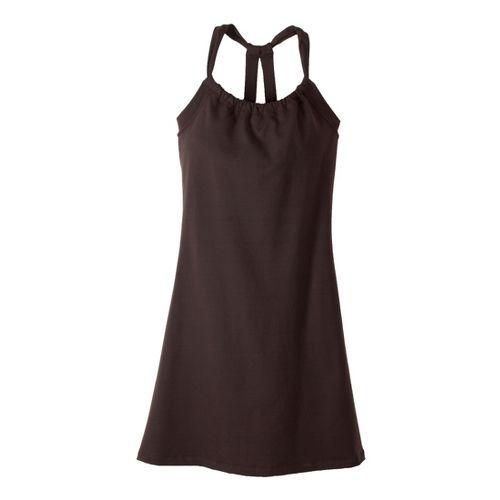 Womens Prana Quinn Dress Skirt Fitness Skirts - Espresso XL