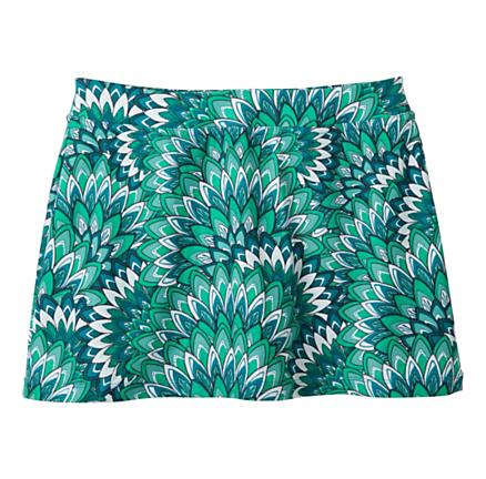 Womens Prana Sugar Printed Mini Skirt Skort Fitness Skirts