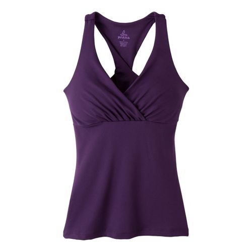 Womens Prana Kira Top Sport Top Bras - Amythest XL