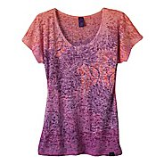 Womens Prana Lotus Top Short Sleeve Non-Technical Tops