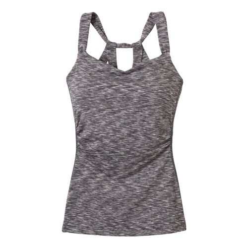 Womens Prana Twyla Top Sport Top Bras - Coal XL