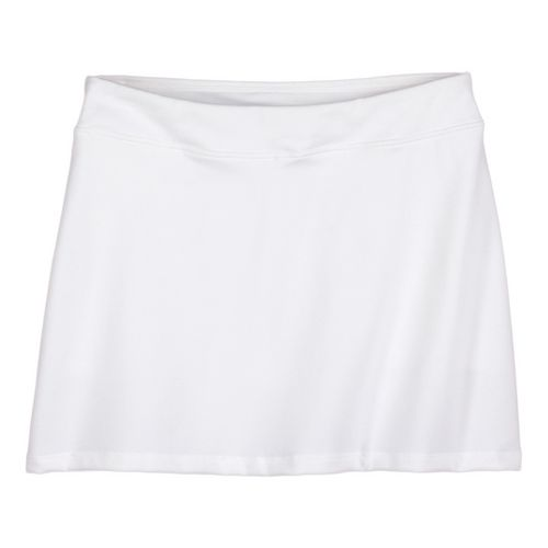 Womens Prana Sugar Mini Skirt Skort Fitness Skirts - White L