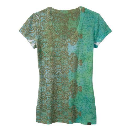 Womens Prana Bindi Tee Short Sleeve Non-Technical Tops - Clover L