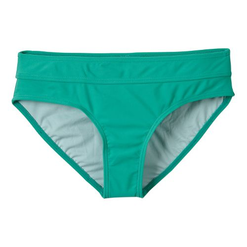 Womens Prana Ramba Bottom Swimming Swim - Cool Green XS