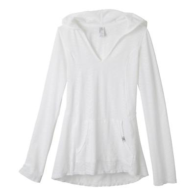 Womens Prana Angie Hoodie Long Sleeve No Zip Technical Tops