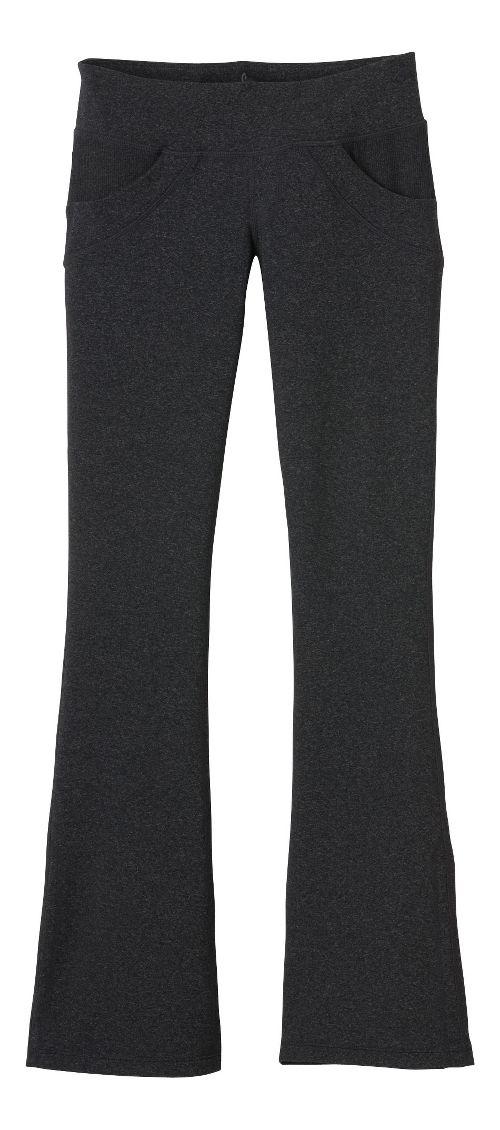 Womens Prana Drew Pant Bootleg Tights - Charcoal L