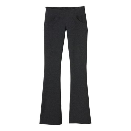 Womens Prana Drew Pant Bootleg Tights - Charcoal L